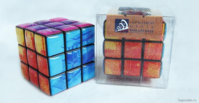 Изготовление корпоративного сувенира — кубика Рубика для «ОЦВ»